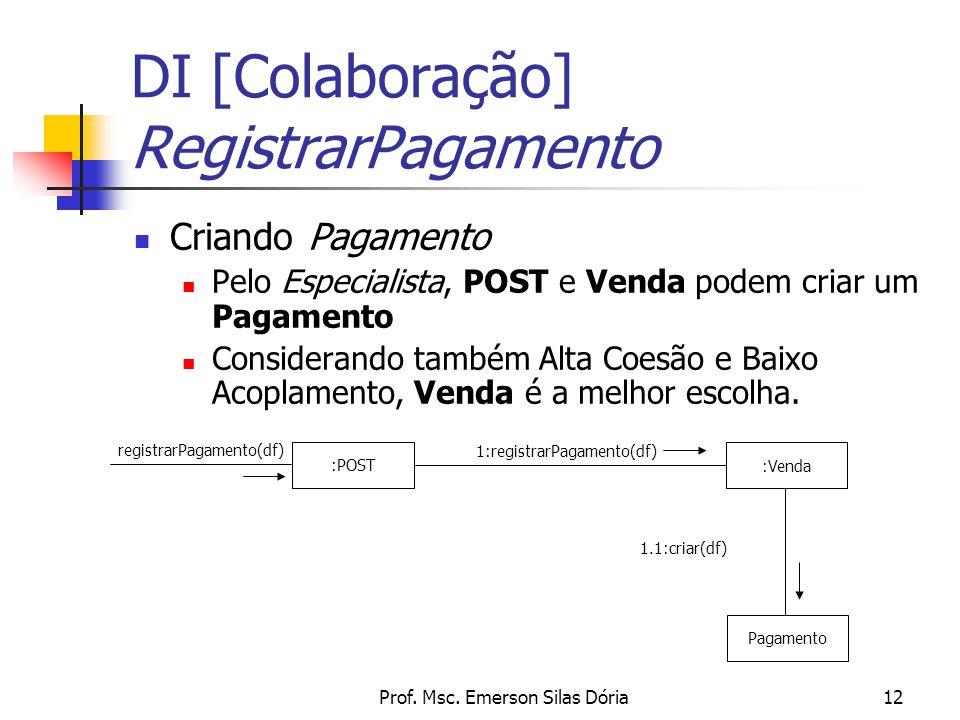 DI [Colaboração] RegistrarPagamento